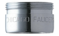 Chicago Faucets (E12JKABCP) 2.2 GPM (8.3 L/min) Pressure Compensating Softflo Aerator
