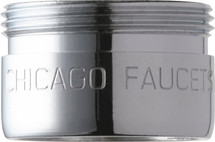 Chicago Faucets (E37JKABCP) 1.5 GPM (5.7 L/min) Pressure Compensating Laminar Flow Non-Aerating Outlet