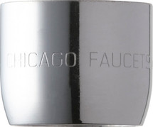 Chicago Faucets (E36JKABCP)  1.5 GPM (5.7 L/min) Pressure Compensating Laminar Flow Non-Aerating Outlet