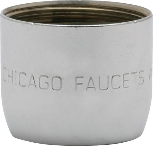 Chicago Faucets (E2605-5JKABCP)  0.5 GPM (1.9 L/min) Pressure Compensating Econo-Flo Non-Aerating Spray with Adapter