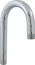 """Chicago Faucets (225-001JKABCP)  3-1/2"""" Rigid Gooseneck Spout"""