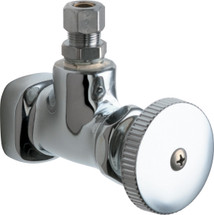 Chicago Faucets (1015-ABCP)  Angle Stop Fitting