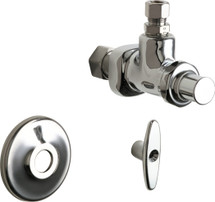 Chicago Faucets (1025-ABCP)  Angle Stop Fitting with Loose Key