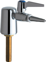 Chicago Faucets (980-909-957-3KAGV)  Turret with Single Ball Valve