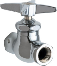 Chicago Faucets (45-ABCP)  Straight Stop Fitting