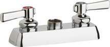 Chicago Faucets (W4D-LES369AB)  Hot and Cold Water Workboard Sink Faucet