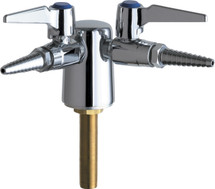Chicago Faucets (982-909-957-3KAGV)  Turret with Two Ball Valves @ 90å¡