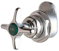 Chicago Faucets (914-LHABCP)  Left-Hand 45å¡ Angle Control Valve