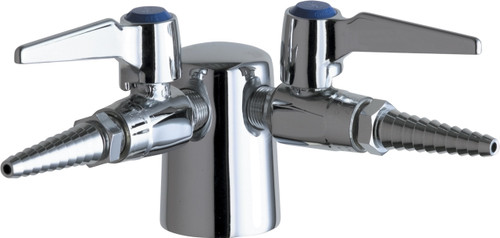 Chicago Faucets (982-909CAGCP)  Turret with Two Ball Valves @ 90å¡ with Check