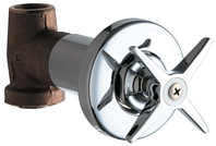 Chicago Faucets (770-PLABCP) Concealed Straight Valve