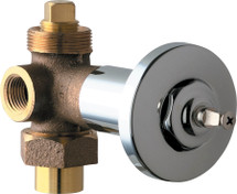 Chicago Faucets (769-LEHAB)  Concealed Angle Valve