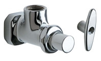 Chicago Faucets (442-LKCABCP)  Angle Stop Fitting with Loose Key