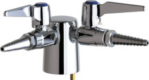 Chicago Faucets (982-VP909CAGCP)  Turret with Two Ball Valves