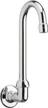 Chicago Faucets (629-E29ABCP)  Remote Rigid/Swing Gooseneck Spout