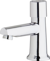 Chicago Faucets (3500-E2805ABCP)  Single Supply Metering Sink Faucet
