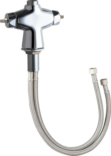 Chicago Faucets (929-LESH)  Hot and Cold Water Mixing Faucet