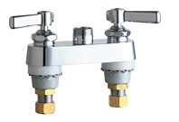 Chicago Faucets (895-LESXKAB)  Hot and Cold Water Sink Faucet
