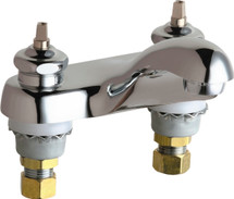 Chicago Faucets (802-E74LEHAB)  Hot and Cold Water Sink Faucet