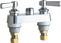 Chicago Faucets (891-LESAB)  Hot and Cold Water Sink Faucet
