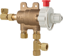 Chicago Faucets (131-CFMAB)  ECAST Thermostatic Mixing Valve