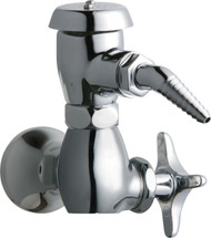Chicago Faucets (1300-CP)  Single Inlet Cold Water Faucet with Vacuum Breaker