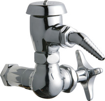 Chicago Faucets (1300-MCP)  Single Inlet Cold Water Faucet with Vacuum Breaker