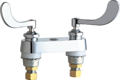 Chicago Faucets (895-317RGD1LESAB)  Hot and Cold Water Sink Faucet