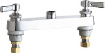 Chicago Faucets (527-LESAB)  Hot and Cold Water Sink Faucet