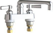 Chicago Faucets (891-E35ABCP)  Hot and Cold Water Sink Faucet