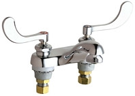 Chicago Faucets (802-E15-317ABCP)  Hot and Cold Water Sink Faucet