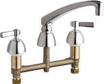 Chicago Faucets (201-AL8ABCP)  Concealed Hot and Cold Water Sink Faucet