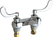 Chicago Faucets (802-VE2805-317ABCP)  Hot and Cold Water Sink Faucet