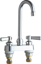 Chicago Faucets (895-E65VP-VPAABCP)  Hot and Cold Water Sink Faucet
