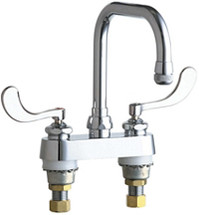 Chicago Faucets (526-317ABCP)  Hot and Cold Water Sink Faucet
