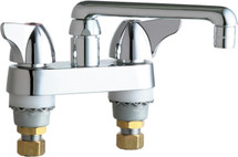 Chicago Faucets (1891-E35ABCP)  Hot and Cold Water Sink Faucet