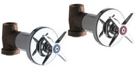 Chicago Faucets (770-PRABCP)  Concealed Straight Valve