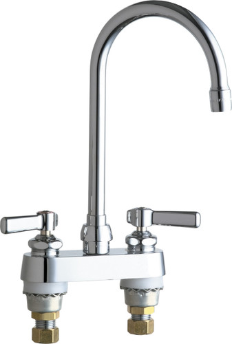 Chicago Faucets (895-GN2AE72ABCP)  Hot and Cold Water Sink Faucet