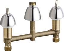 Chicago Faucets (786-LESHAB)  Concealed Hot and Cold Water Sink Faucet