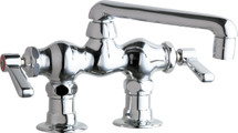 Chicago Faucets (772-ABCP)  Hot and Cold Water Sink Faucet
