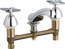 Chicago Faucets (404-633ABCP)  Concealed Hot and Cold Water Sink Faucet