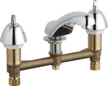 Chicago Faucets (404-633XKABCP)  Concealed Hot and Cold Water Sink Faucet