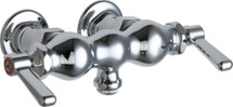 Chicago Faucets (65-261ABCP)  Hot and Cold Water Sink Faucet