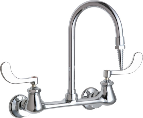 Chicago Faucets (942-317CP)  Hot and Cold Water Inlet Faucet