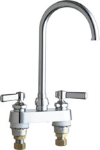 Chicago Faucets (895-GN2FCABCP)  Hot and Cold Water Sink Faucet