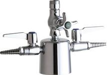 Chicago Faucets (1301-LES)  Combination Triple Service Fixture