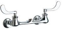 Chicago Faucets (631-LESAB)  Hot and Cold Water Sink Faucet