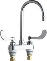 Chicago Faucets (895-317GN2AE36ABCP)  Hot and Cold Water Sink Faucet