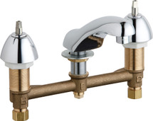 Chicago Faucets (404-VE64LEHAB)  Concealed Hot and Cold Water Sink Faucet