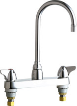 Chicago Faucets (1100-GN2AE35XKABCP)  Hot and Cold Water Sink Faucet
