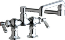 Chicago Faucets (772-DJ13ABCP)  Hot and Cold Water Sink Faucet